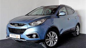 Hyundai iX35 2,0 CVVT Premium 4WD bei Donau Automobile in