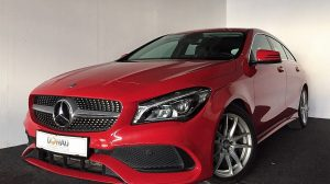 Mercedes-Benz CLA 200 Shooting Brake Aut. * Navi * LED * OrangeArt Edition bei Donau Automobile in