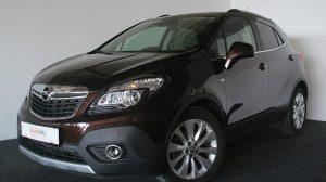 Opel Mokka 1,4 Turbo Ecotec Cosmo * Navi * AHK * Serviceheft bei Donau Automobile in
