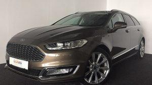 Ford Mondeo Traveller Vignale 2,0 TDCi * Navi * Leder * bei Donau Automobile in