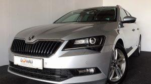 Skoda Superb Kombi 2,0 TDI Style DSG * Navi * Xenon * WLAN bei Donau Automobile in