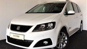 Seat Alhambra Style 2,0 TDI CR DPF * Navi * 7 Sitze bei Donau Automobile in