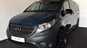 Mercedes-Benz Vito Tourer Pro 114 BlueTEC lang 4×4 Aut. * Standheizung * 8-Sitzer bei Donau Automobile in