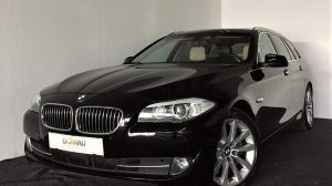 BMW 525d xDrive Touring Ö-Paket Aut. * Leder * Navi * Schiebedach bei Donau Automobile in