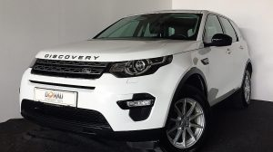 Land Rover Discovery Sport 2,0 TD4 4WD Pure * Teilleder * Xenon bei Donau Automobile in