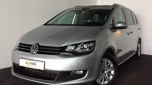VW Sharan Business BMT SCR 2,0 TDI * ACC * Leder * AHK bei Donau Automobile in