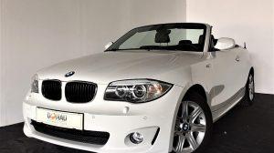 BMW 120i Cabrio Ö-Paket Aut. * Navi * Xenon bei Donau Automobile in