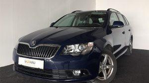 Skoda Superb Combi Ambition 2,0 TDI * Servicegepflegt * bei Donau Automobile in