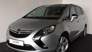 Opel Zafira Tourer 1,6 CDTI * Panorama * Radträger * 7 Sitze bei Donau Automobile in