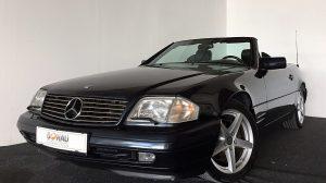 Mercedes-Benz SL 500 Roadster Aut. * Facelift * Extras bei Donau Automobile in