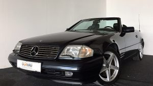 Mercedes-Benz SL 500 Roadster Aut. * Facelift * Extras bei Donau Automobile in