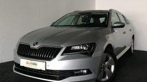 Skoda Superb Kombi 2,0 TDI Style DSG * Navi * AHK * Xenon * bei Donau Automobile in