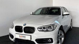 BMW 118d Sport Line * Navi * M Lederlenkrad * Bluetooth * bei Donau Automobile in